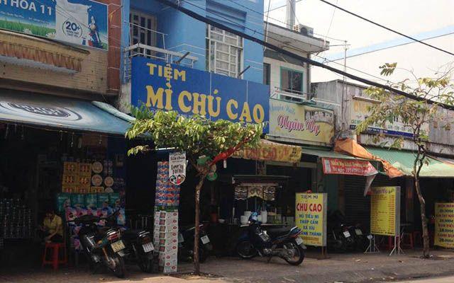 Tiệm Mì Chú Cao - Cây Keo