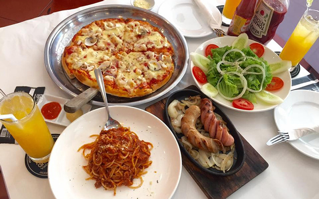 Al Fresco's - Pizza, Mỳ Ý, Sườn, Steak Bò Bít Tết - Times City