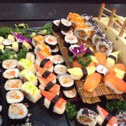sushi siêu nhiều loại woohoo