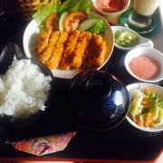Tonkatsu lunch set