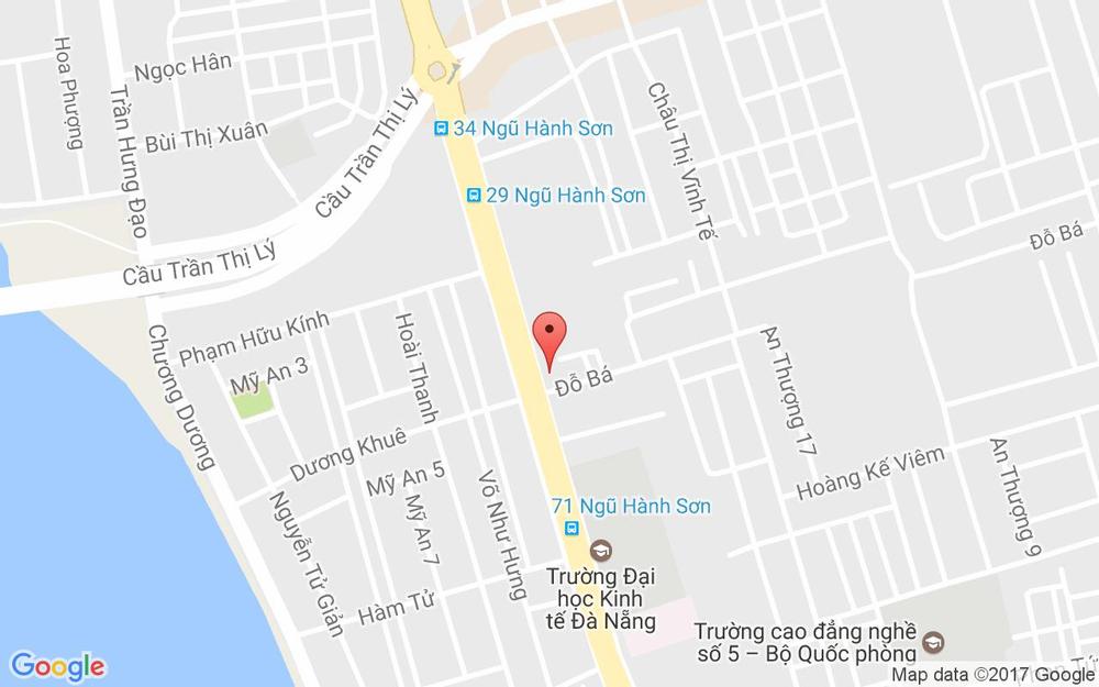 Vị trí bản đồ 43/5 Ngũ Hành Sơn Quận Ngũ Hành Sơn Đà Nẵng