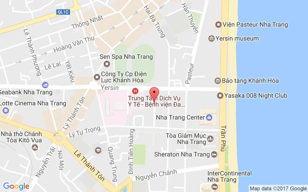 Vị trí bản đồ 9A Trần Văn Ơn Tp. Nha Trang Khánh Hoà