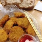 5k/cái bánh gà thần thánh ❤️ Gia vị vừa miệng thơm ngon, phục vụ hơi lâu