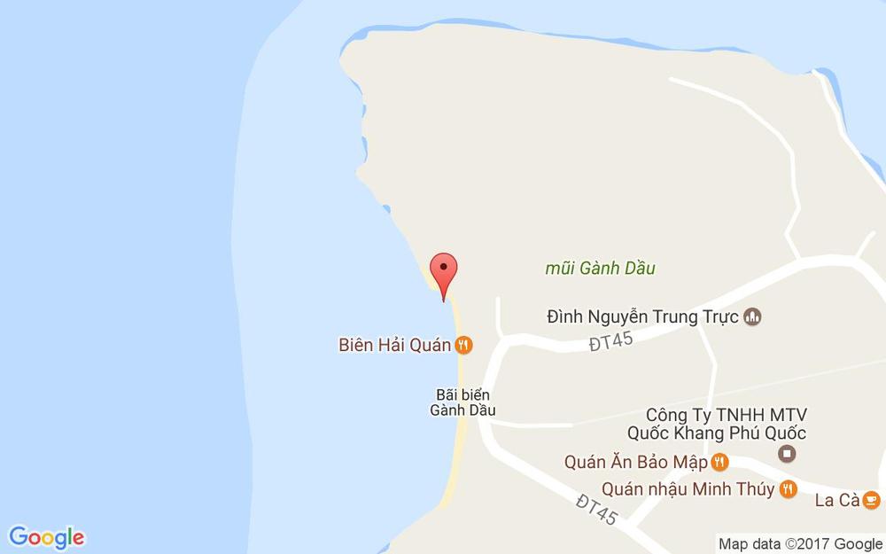 Vị trí bản đồ Nam Phương Resort ở Phú Quốc