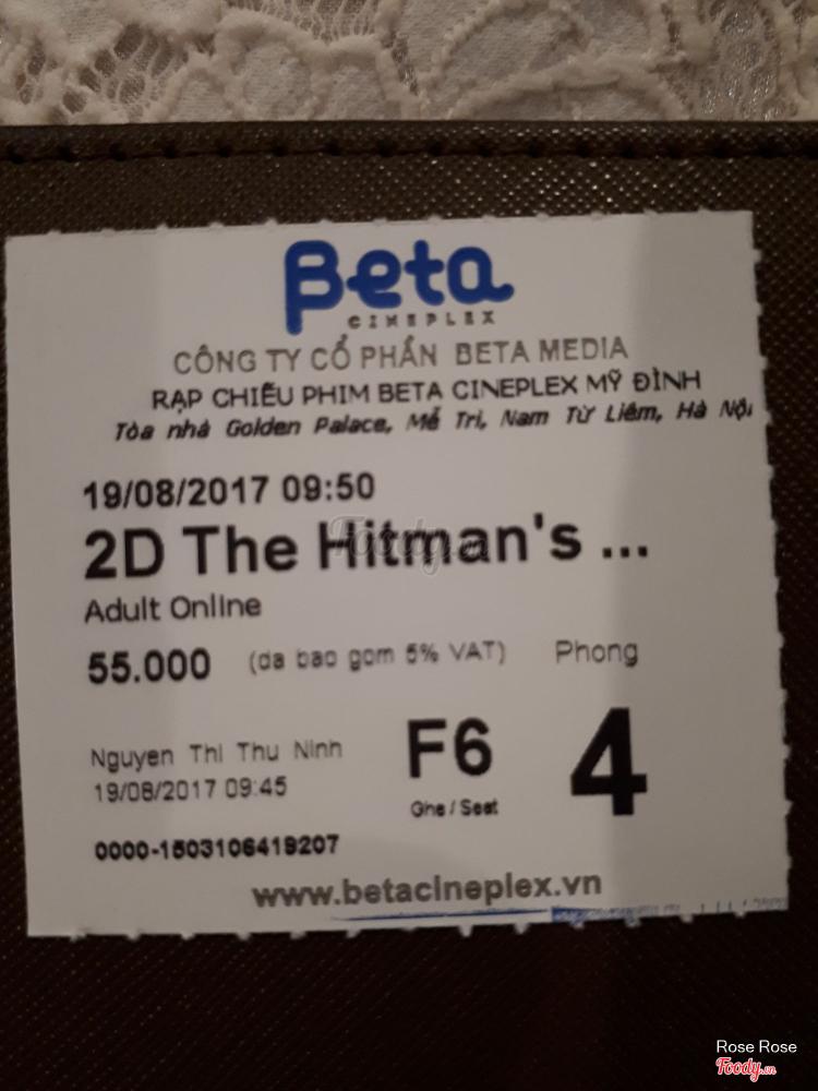 Rạp Chiếu Phim Beta Cineplex Mễ Trì ở Hà Nội