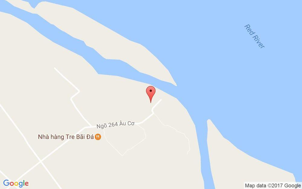Vị trí bản đồ Bãi Đá Sông Hồng ở Hà Nội