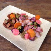 Grilled Fresh Sausage Platte - 225k