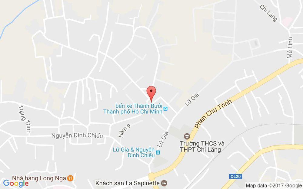 Vị trí bản đồ Hiền Trang - Bánh Kẹo Mứt ở Lâm Đồng
