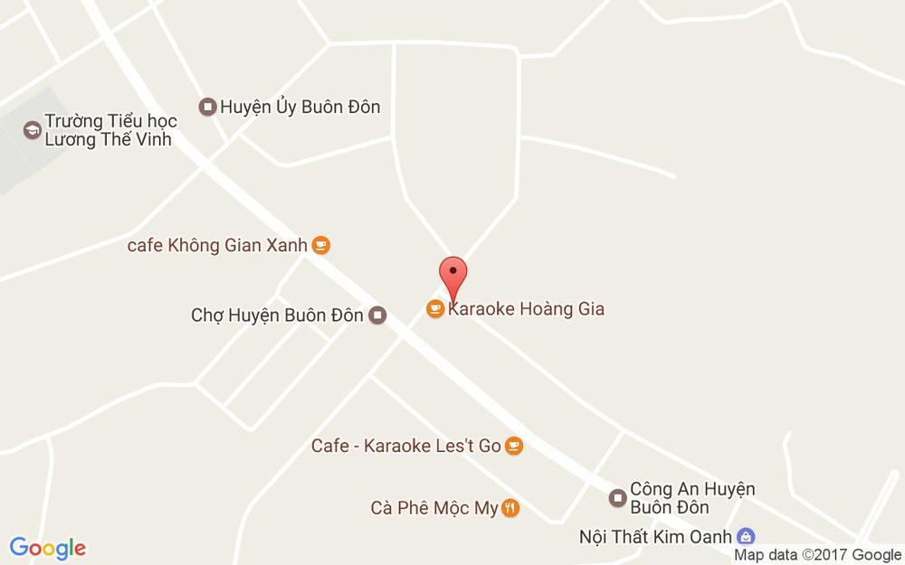 Vị trí bản đồ Karaoke Hoàng Gia ở Đắk Lắk