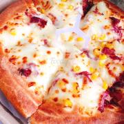 Pizza bò nướng phomai