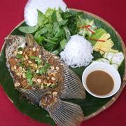 cá tây tượng lên đĩa