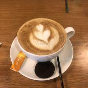 1 ly latte nóng cho trời lạnh!!!!