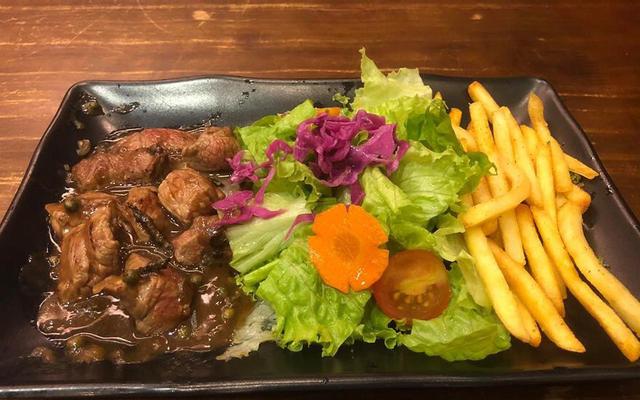 Gia Bảo - Beefsteak Nui Mì Ý