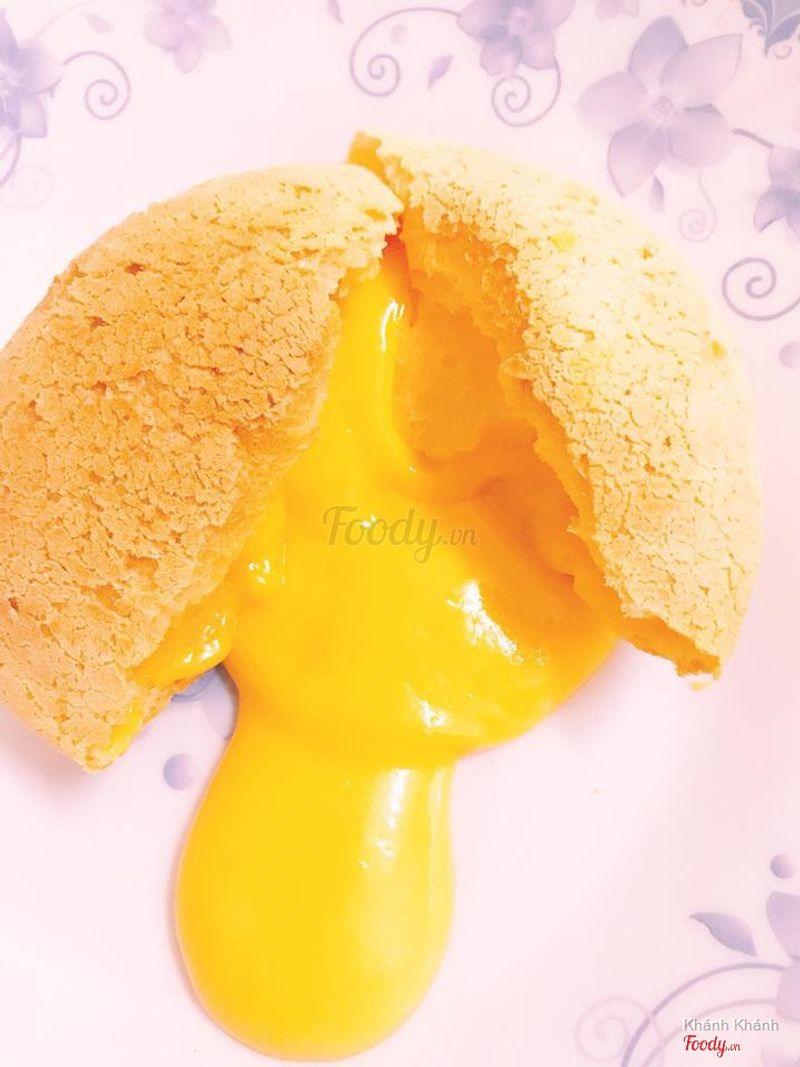 Bánh lava sầu riêng
