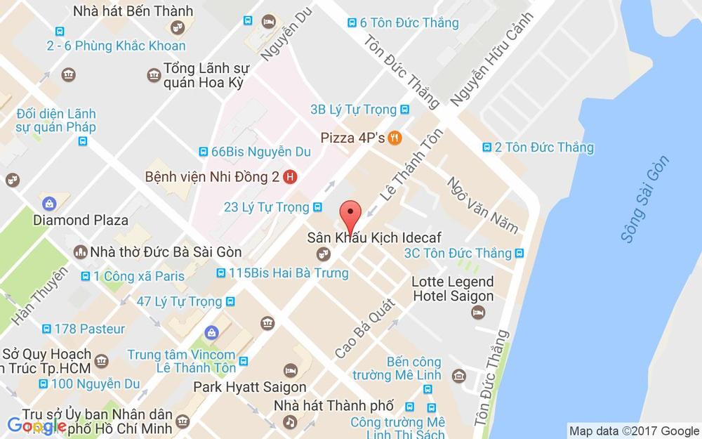 Vị trí bản đồ 17/12 Lê Thánh Tôn Quận 1 TP. HCM
