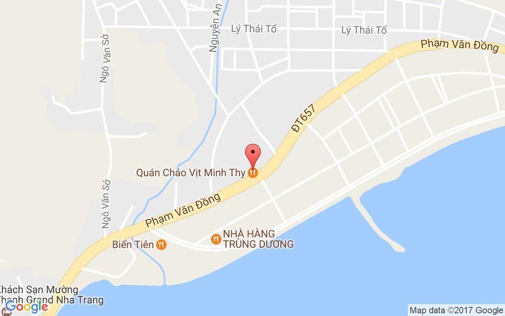 Vị trí bản đồ Tổ 13 Phạm Văn Đồng, P. Vĩnh Hòa Tp. Nha Trang Khánh Hoà