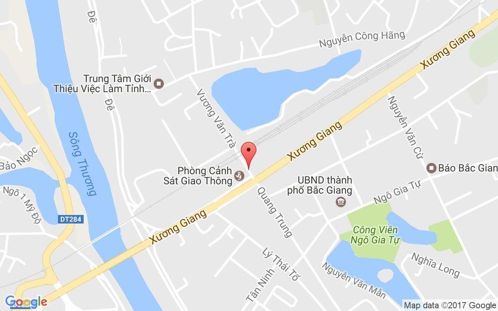 Vị trí bản đồ 13 Vương Văn Trà Tp. Bắc Giang Bắc Giang