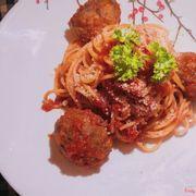 Spaghetti bò viên