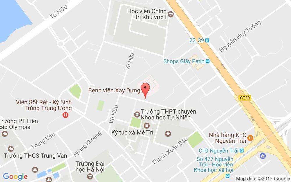 Vị trí bản đồ C19 Thanh Xuân Bắc, Nguyễn Quý Đức Quận Thanh Xuân Hà Nội