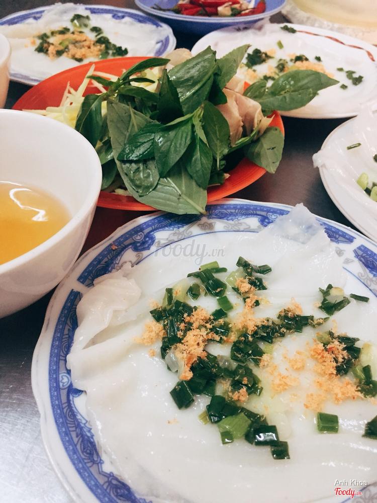 Bánh Ướt Dĩa ở Khánh Hoà