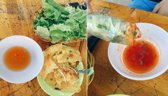 Bánh Xèo Chảo Mực Tôm
