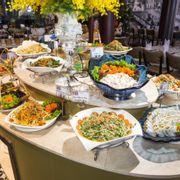 Buffet đa dạng các món