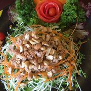 salad cải mầm cá ngừ