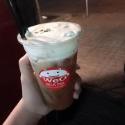 Hồng trà macchiato , uống từ Quang Trung rồi dời qua Bờ Kè Xáng Thổi , ngon và béo lắmm 👌🏻😘