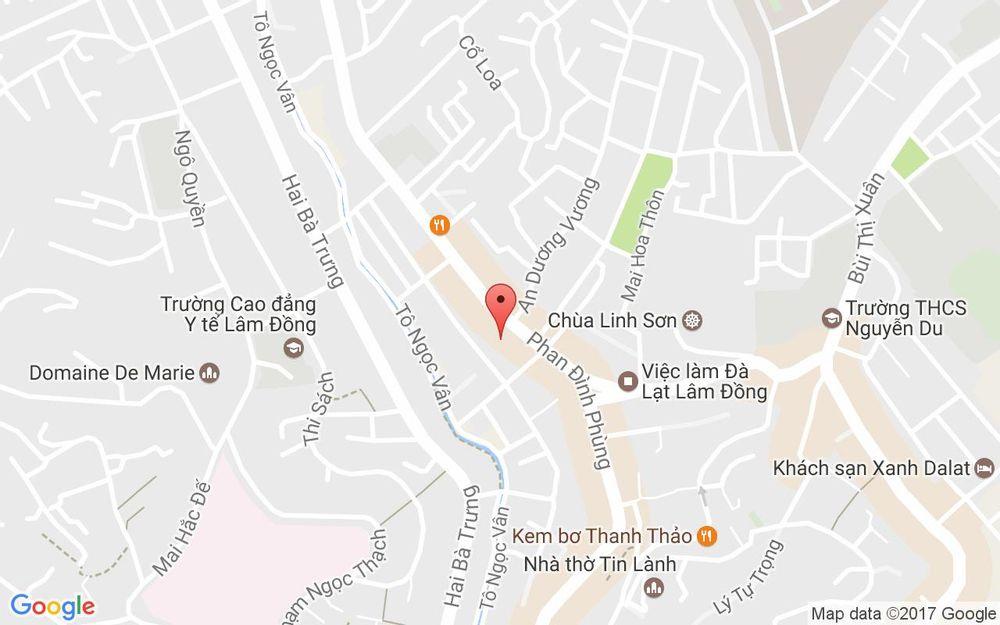 Vị trí bản đồ Honda Ngọc Anh ở Lâm Đồng