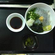 Shirasudon - Cơm cá mòi trắng