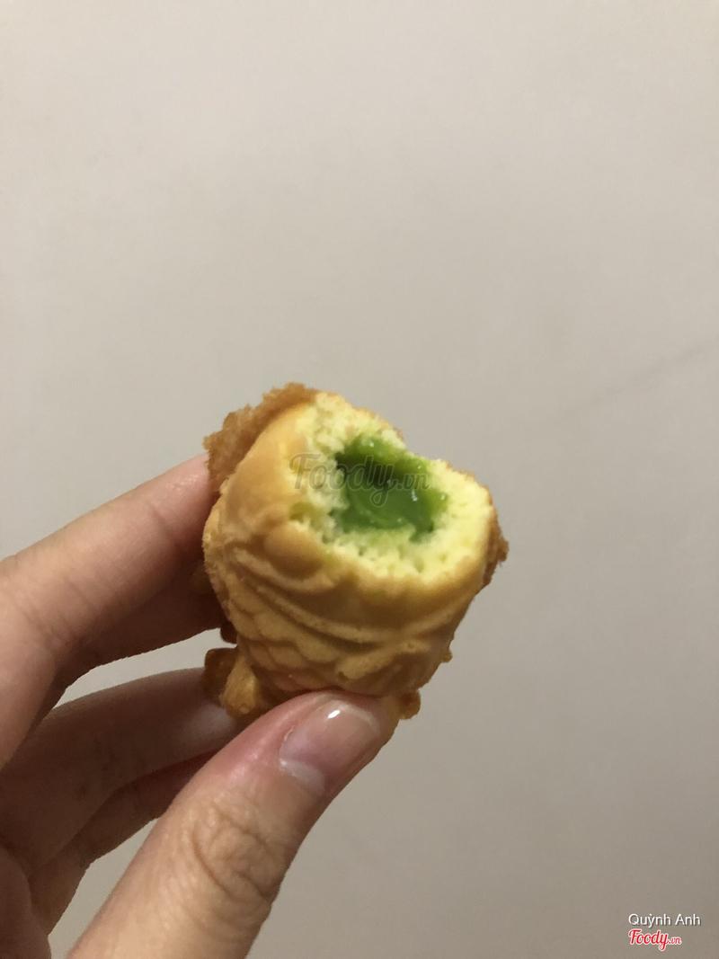 Bánh cá trà xanh