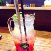 Red Shangri-la Soda