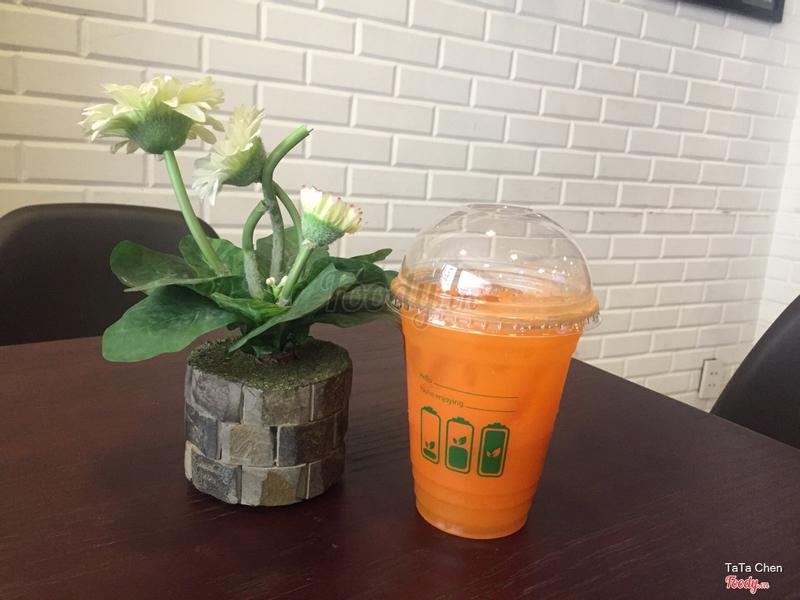 Nước ép cam & Cà rốt