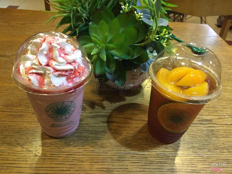 Trà Đào Cam Tắc & Strawberry Yogurt