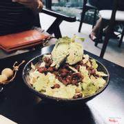 Bingsu matcha đậu đỏ (lần đầu đi ăn)