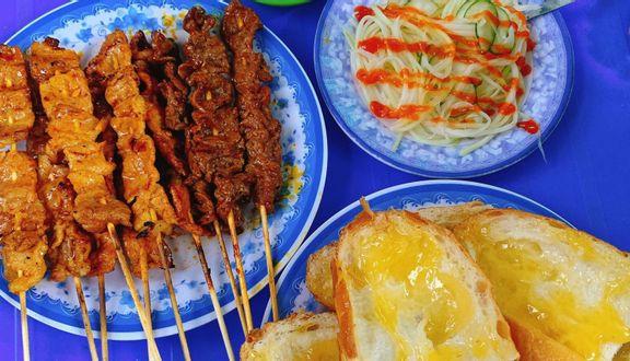 Bánh Mì Bò Nướng Bơ Campuchia