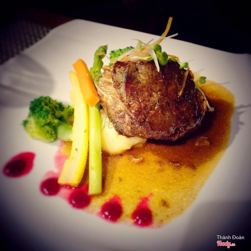 Australian Beef rib eye - Thăn bò Úc nướng