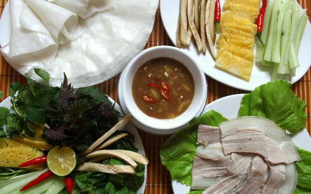 Quán Chiều - Bánh Tráng Thịt Heo