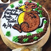 Bánh sinh nhật tuổi chuột