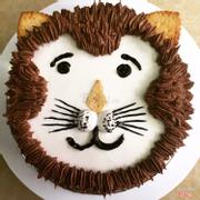 Bánh sinh nhật sư tử