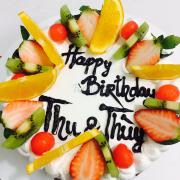 Bánh sinh nhật hoa quả