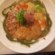 piza sashimi