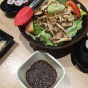 Salat nấm sốt Nhật
