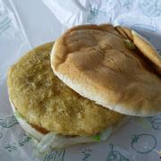 Burger gà mayo nhỏ 29k