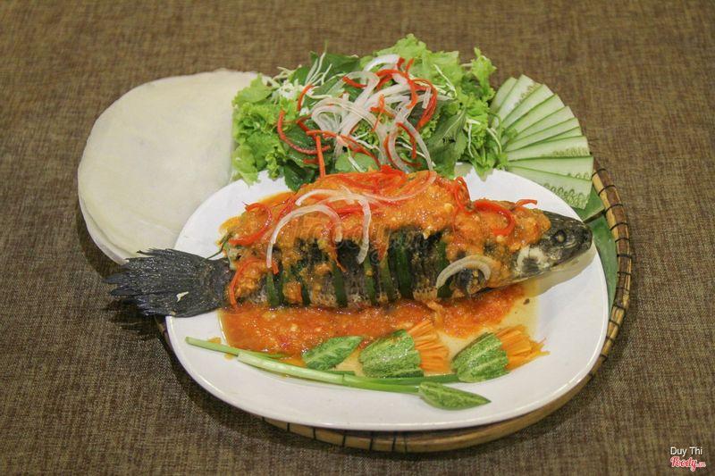 Cá lóc nhồi thịt