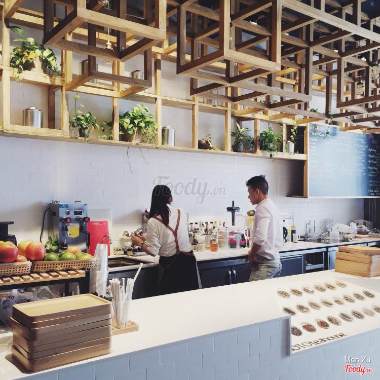 JOTO Tea House ở Hà Nội