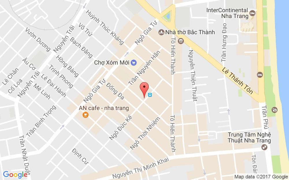 Vị trí bản đồ 8 Ngô Đức Kế Tp. Nha Trang Khánh Hoà