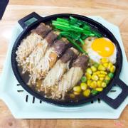 Bò cuộn nấm 35k