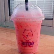Dâu sữa lắc/ Strawberry milk- Shake 30k