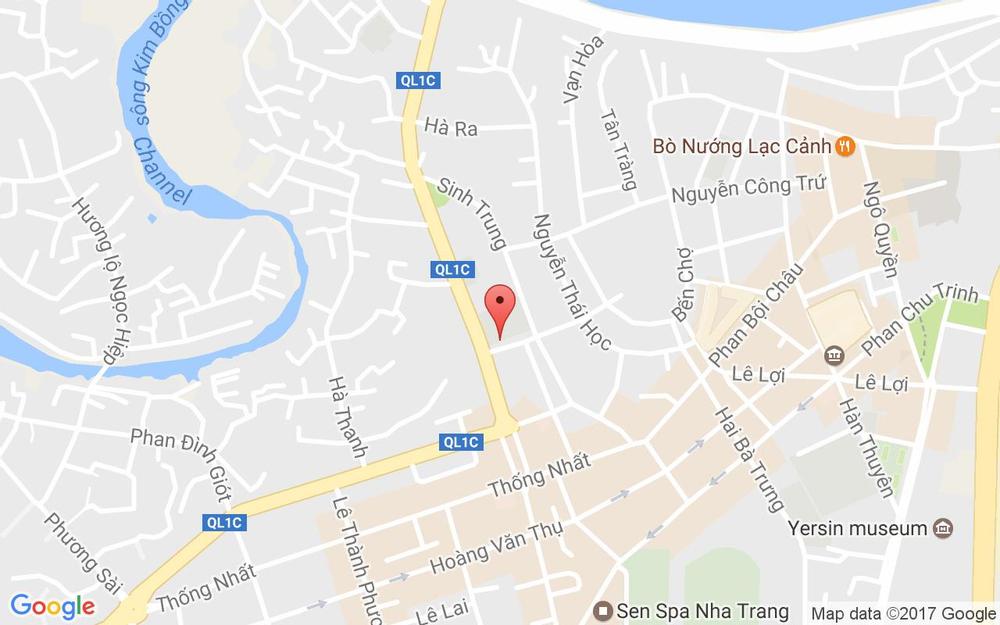 Vị trí bản đồ Lý Quốc Sư, P. Vạn Thạnh Tp. Nha Trang Khánh Hoà